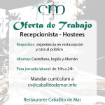 Oferta de Trabajo – Hostees